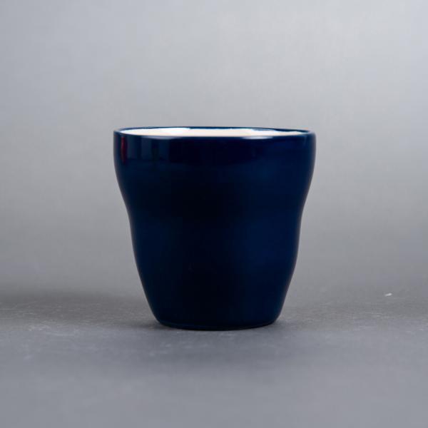 Kopp uten hank blå