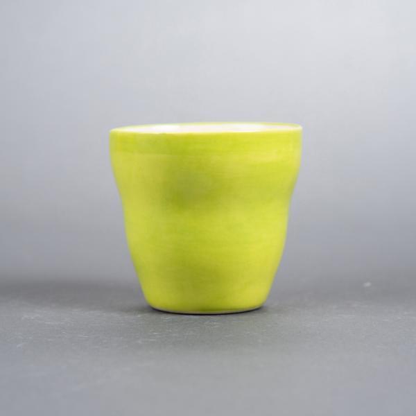 kopp uten hank grønn