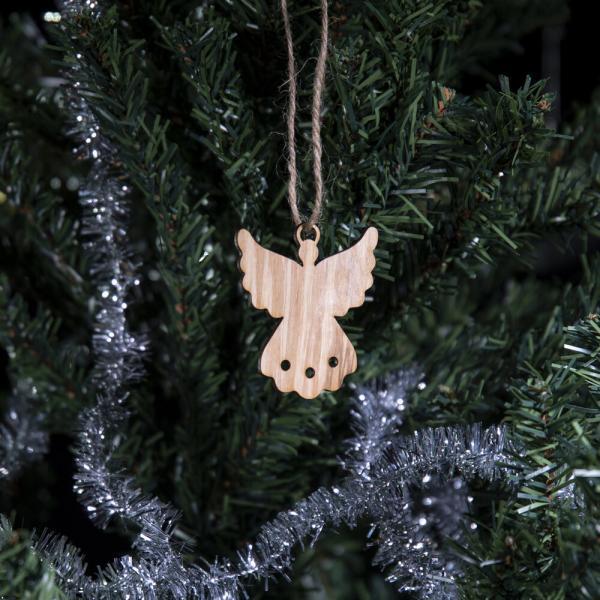 julefigur på juletre engel