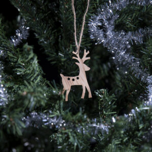 Julefigur på juletre reinsdyr