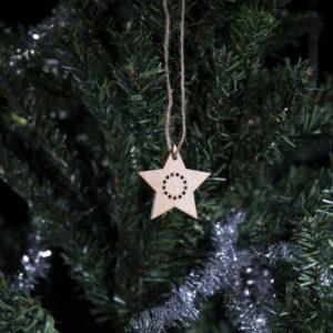 Julefigur på juletre stjerne