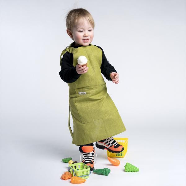 Barneforkle grønn