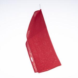 Kjøkkenhåndkle i lin, rødt