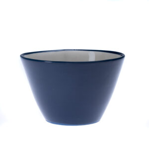 Blå liten skål