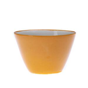 Oransje liten skål