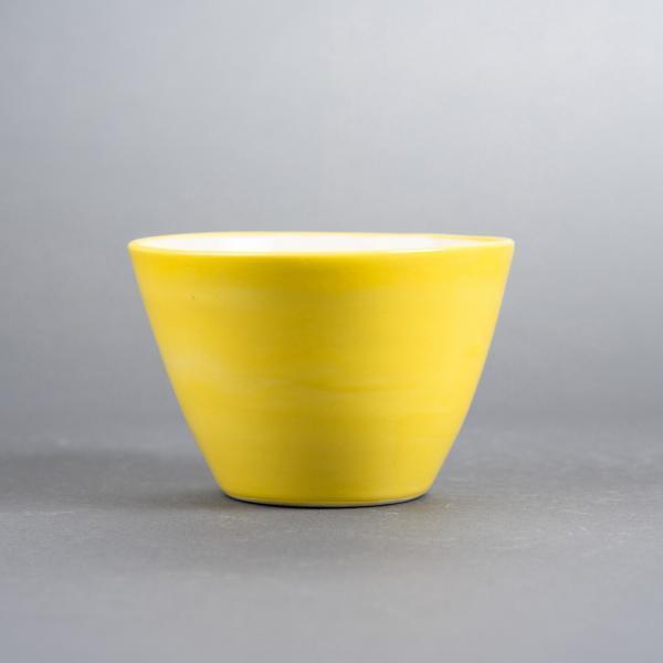 gul liten skål