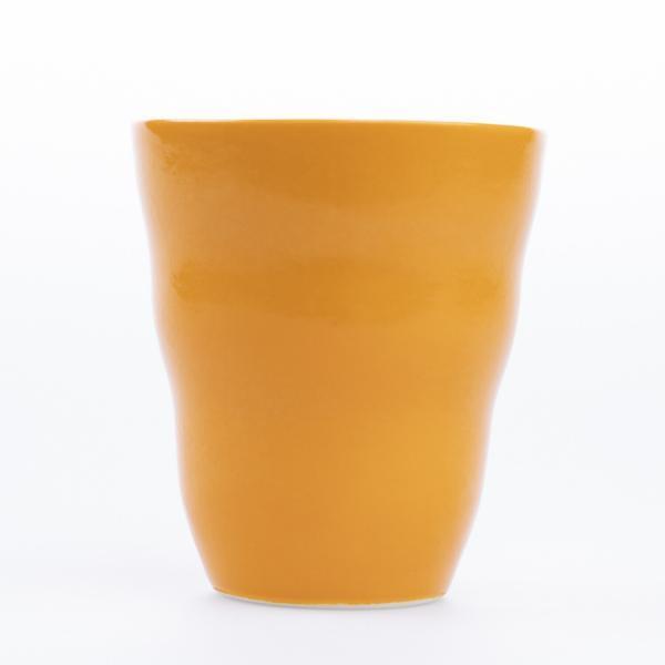 Krus uten hank oransje