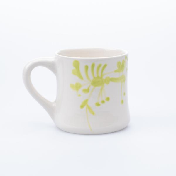 Grønn kontorkopp keramikk
